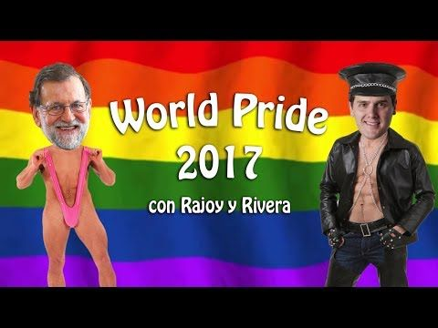 World Pride Madrid 2017, con Rajoy y Albert Rivera