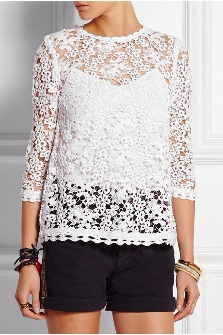 Isabel Marant Etoile Deb Lace Top, Size 34 #IsabelMarant #KnitTop