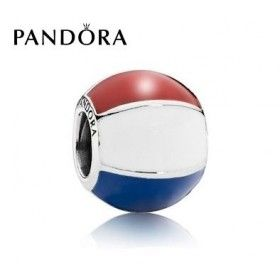 charms pandora bleu blanc rouge