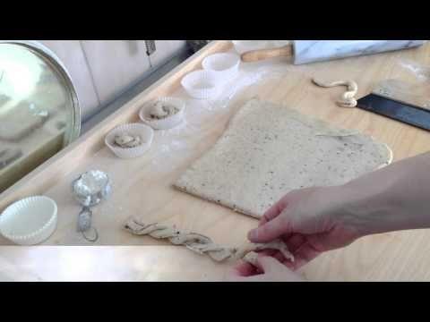VIDEO: Så snurrar du kanelbullar på tre olika sätt: knutar, kavlade knutar och hjärtan.