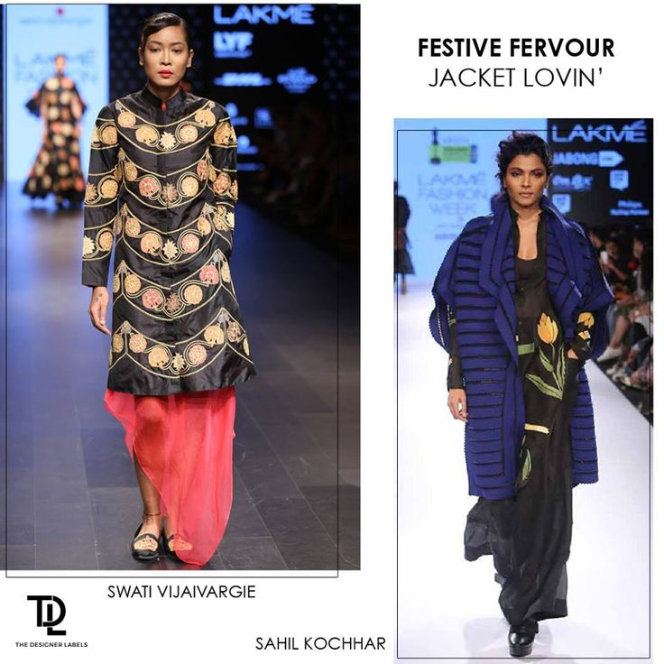 Festive jackets - Go for an traditional one by Swati Vijaivargie or a contemporary one by Sahil Kochhar. Which is your pick? #India #Fashion #indianwear #festivewear #indiandesigner #jacketa