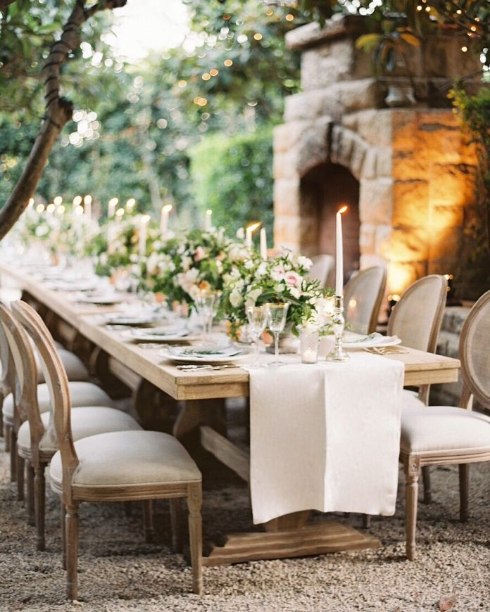 75 best outdoor wedding images on pinterest glamping weddings garden wedding table decoration inspiration httpbridestory junglespirit Images