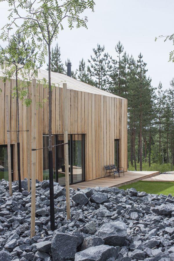 Moderner holzbau satteldach  57 besten Architektur Holzbau Bilder auf Pinterest | Holzbau ...