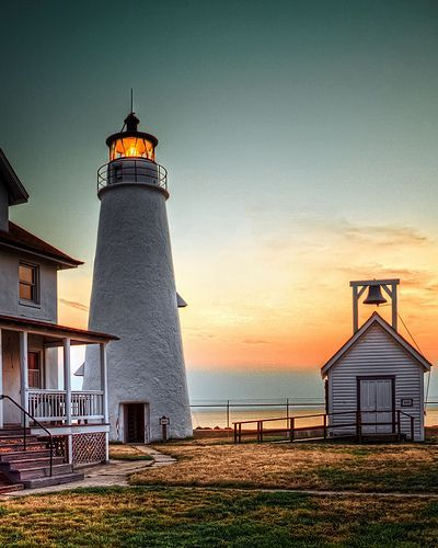 Cove Point Lighthouse, Maryland                                                                                                                                                                                 More