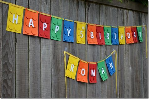 17 Best Ideas About Lego Birthday Banner On Pinterest