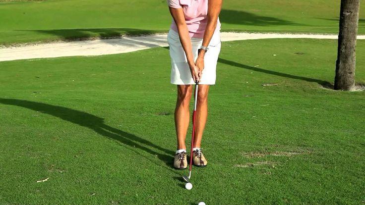 UK Golf Gear - Golf Magazine Top 100 Teacher -- PGA Professional Kellie Stenzel Chipping Tip