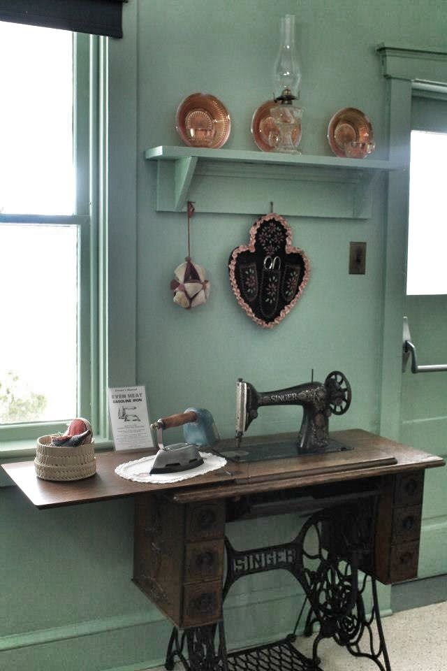 Would LOVE to have a treadle sewing machine.  I remember my Mom sewing on one when I was little.