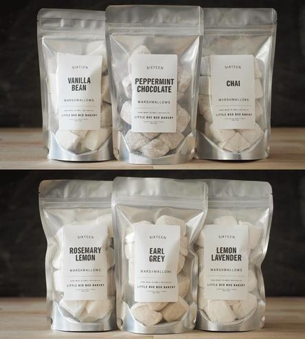 Gourmet Marshmallow Assortment by Little Boo Boo Bakery on Scoutmob Shoppe #HealtyRecipe #EasyRecipe #HandmadeMarshallows