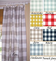 1000 Ideas About Buffalo Check Curtains On Pinterest French Country Curtains Buffalo Check