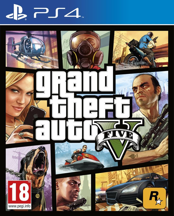 Grand Theft Auto V (PS4):Amazon.co.uk:PC & Video Games