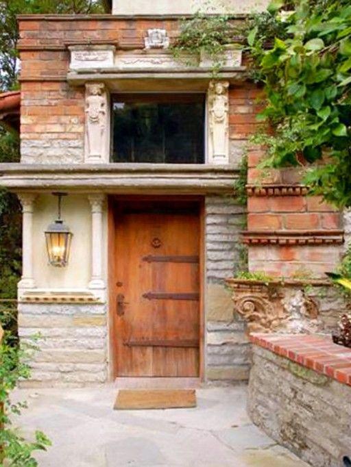 Halle Berry's front doorBeverly Hills, Entry Doors, Hall Berries, Rustic Doors, Front Doors, Entrance Doors, Halle Berry, Wooden Doors, Wood Doors