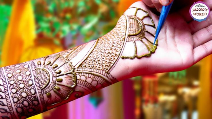 Beautiful Arabic Henna Designs | Mehndi Designs by Jyoti Sachdeva.