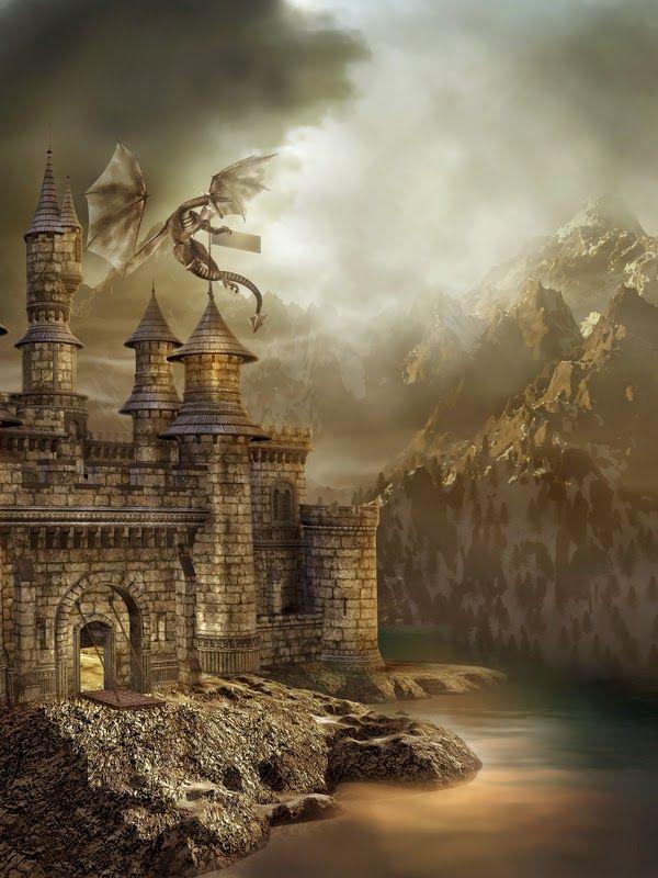 Burning - Dragon Bait (Part 1) - Free Fantasy Fiction | Flight of the Dragon