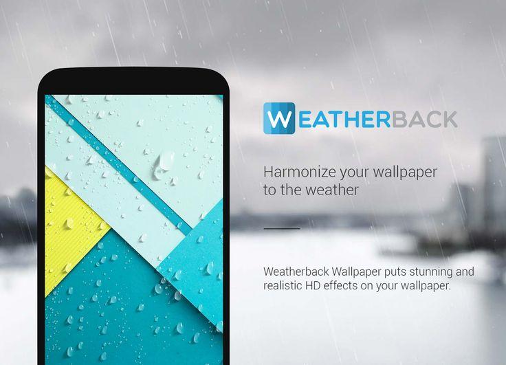 Download Weatherback Wallpaper Premium v1.6.5 Full Apk