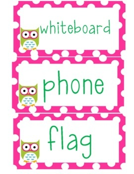 Polka dot and owl themed classroom labels!...: Classroom Classroom, Classroom Design, Classroom Decor, Theme Classroom, Owl Theme, Classroom Labels Kimb, Polka Dots Classroom, Classroom Ideas, Classroom Labels Taylors