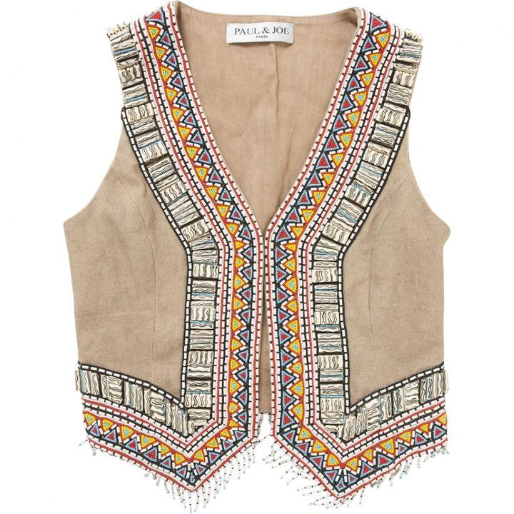 "Paul & Joe Indian"" Waistcoat on shopstyle.co.uk"