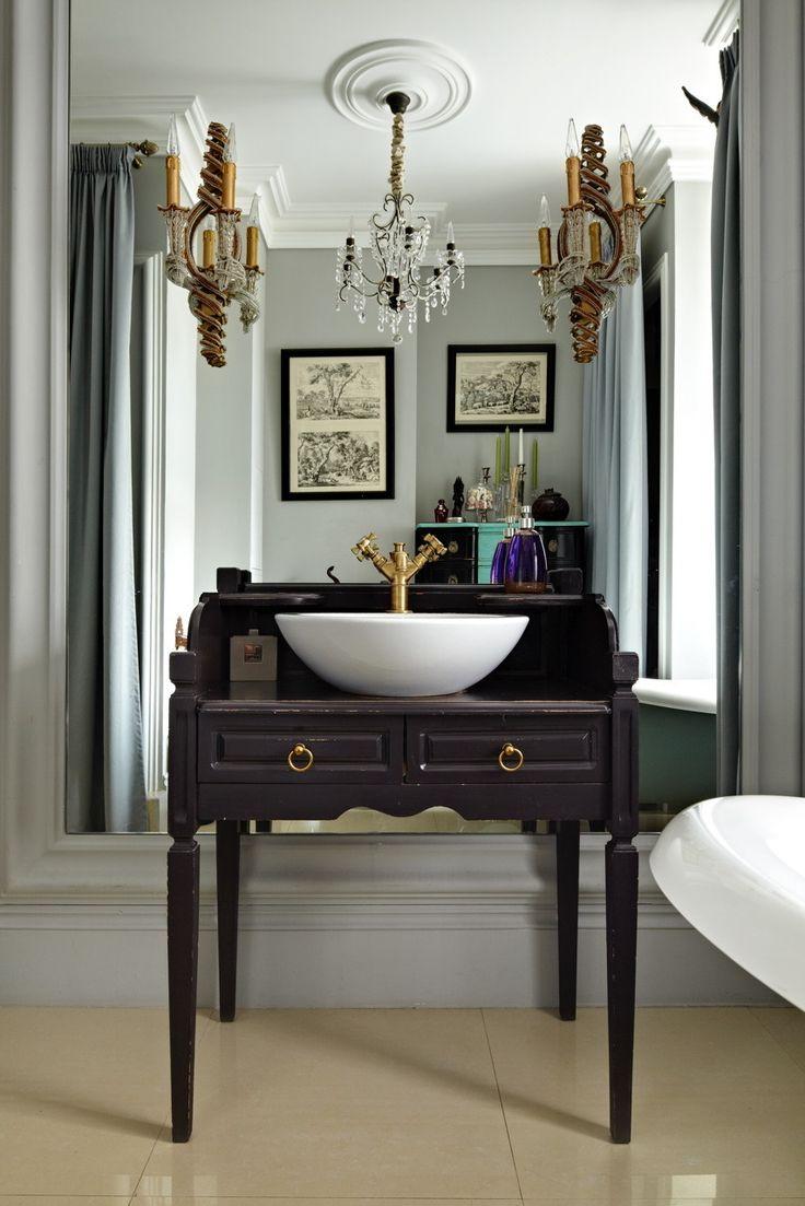 Фотография: Ванная в стиле , Интерьер комнат, Проект недели, катерина лашманова – фото на InMyRoom.ru