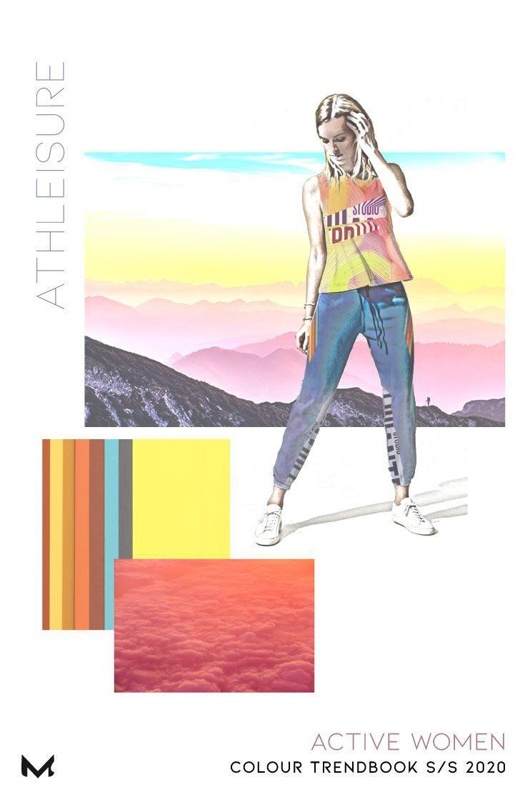Best Women\\\'S Workout Shoes 2020 S/S 2020 Active Women Colour Trendbook in 2019 | Colour