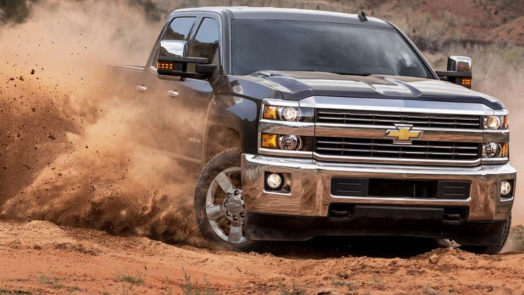 2016 Silverado 2500HD MADE WITH HIGH-STRENGTH STEEL. BUILT WITH GRIT at Chevrolet Cadillac of Santa Fe. www.chevroletofsantafe.com
