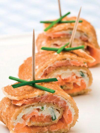 Somonlu krep Tarifi - Parti Yemekleri - Yemek Tarifleri