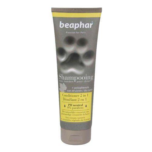 Aus der Kategorie Shampoos  gibt es, zum Preis von EUR 9,43  Beaphar Shampoo Entfilzung 2 in 1<br /> Beaphar Shampoo Entfilzung 2 in 1 ist ein mildes Shampoo für Hunde mit langem Fell. Das Shampoo basiert auf einer speziellen Zusammenstellung von pflanzlichen Ceramiden und Hafer, die beruhigende und pflegende Eigenschaften besitzen. Durch den Einsatz des Shampoos wird das Fell bis tief in die Fellwurzel gepflegt und erhält nicht nur einen schönen Glanz sondern auch einen angenehmen Geruch…