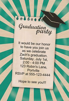 111 best graduation party invitation templates images on pinterest join our graduation party printable graduation party invitation customize add text and photos print for free filmwisefo Images