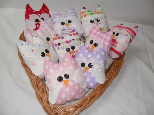 buhos de tela souvenirs nacimientos bautismos baby shower cosas para