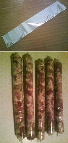 Кулинарный рукав как оболочка для домашней колбасы