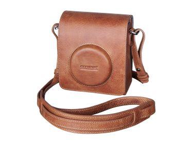 Olympus Shop - Kvalitetslædertaske - Tilbehør - Digitalkameraer
