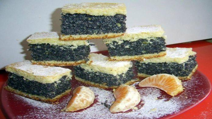 Smetanový makový dort s luxusní chutí: Pečte dozlatova a navrch přidejte ovoce! | Milujeme recepty