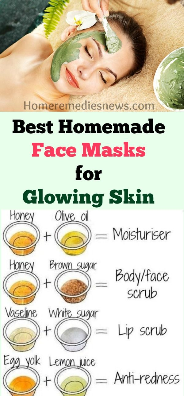 Beauty Glowing skin mask, Easy homemade face masks, Best