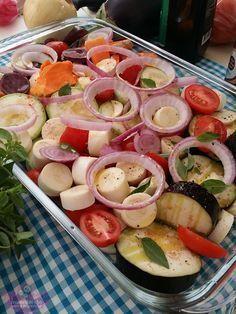 Legumes Assados no Forno