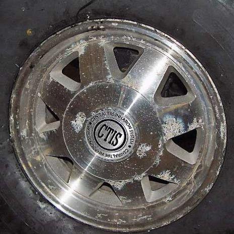Recondition Aluminum Wheels