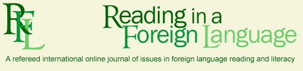 The online journal Reading in a Foreign Language (RFL) is a scholarly international refereed journal originally founded as a print journal in 1983. The editors seek manuscripts concerning both the practice and theory of learning to read and the teaching of reading in any foreign or second language. Reviews of scholarly books and teaching materials, conference reports, and discussions are also solicited.