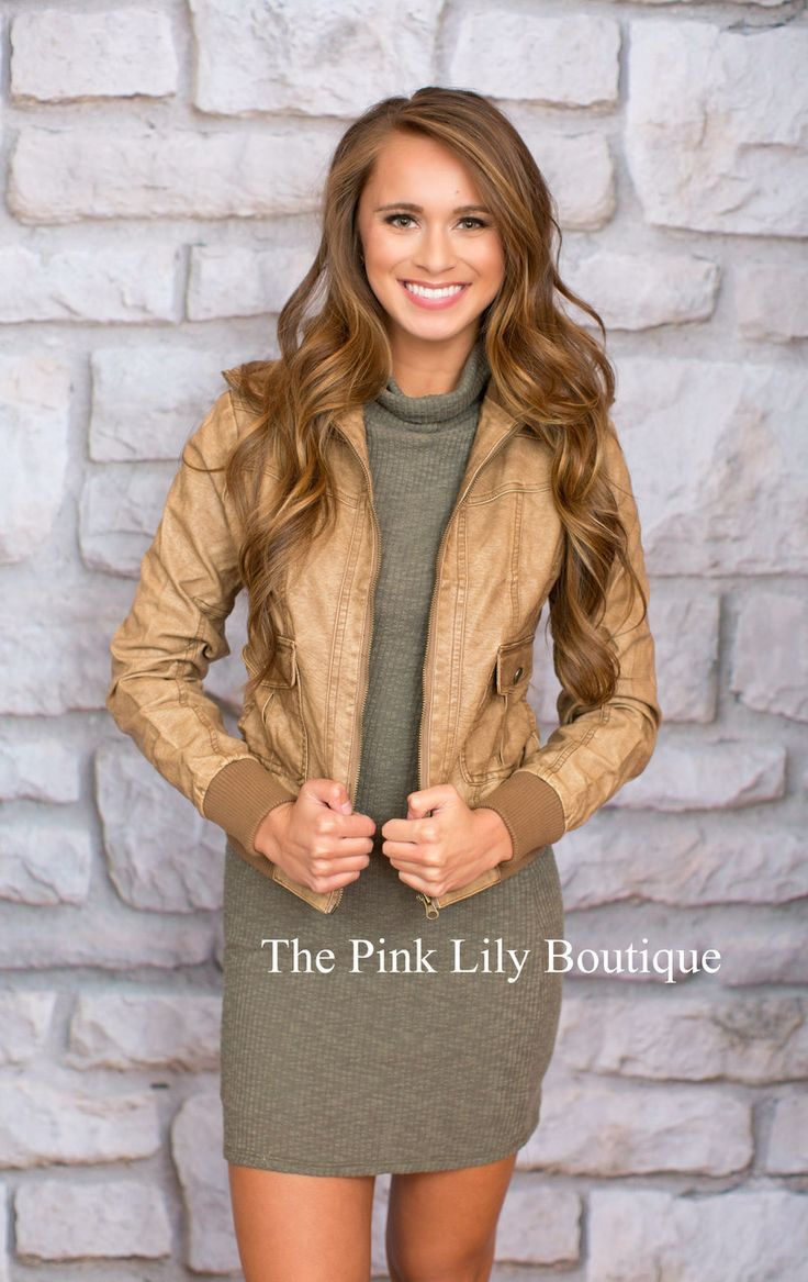 Ready To Rumble Brown Jacket - The Pink Lily