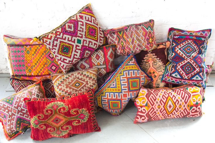 We have lots of Moroccan Pillows | Patina
