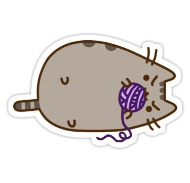 """""""Pusheen"""" Stickers by Boese 