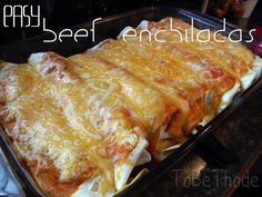 Are you looking for an easy beef enchiladas recipe? This is one that you are sure to love! Highly recommended! http://tobethode.com