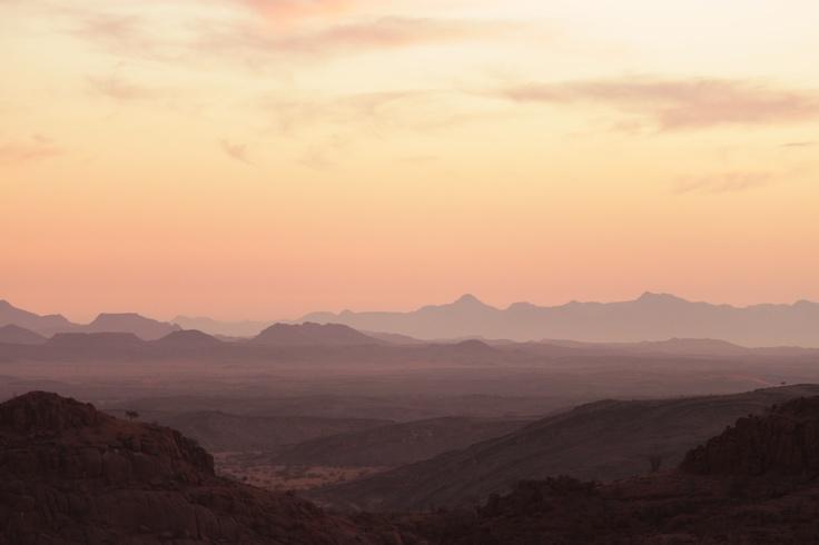 #Namibia at #dusk.