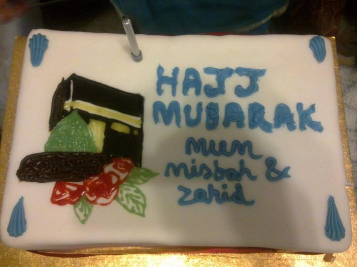 Hajj Mubarak Muslim Cake Decorations Pinterest Hajj mubarak