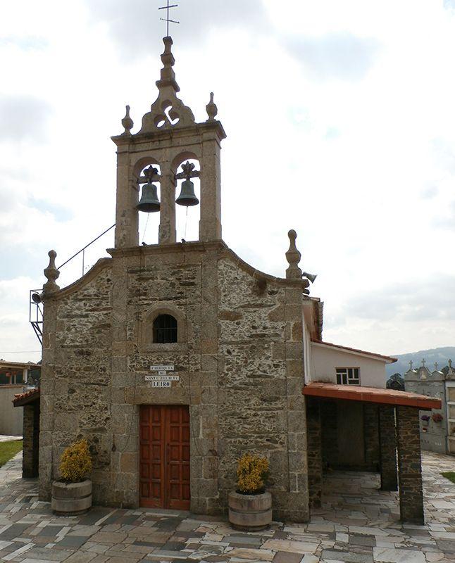 camino Inglés etapa 3 Parroquia de Santa Eulalia en Leiro
