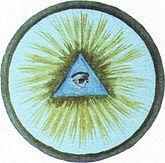 Герб Браслава | Braslaw.by Герб «Око предвидения» (символическое изображение человеческого глаза в треугольнике на фоне солнечных лучей) город получил 2.6.1792 г. в соответствии с привилегией Станислава Августа.