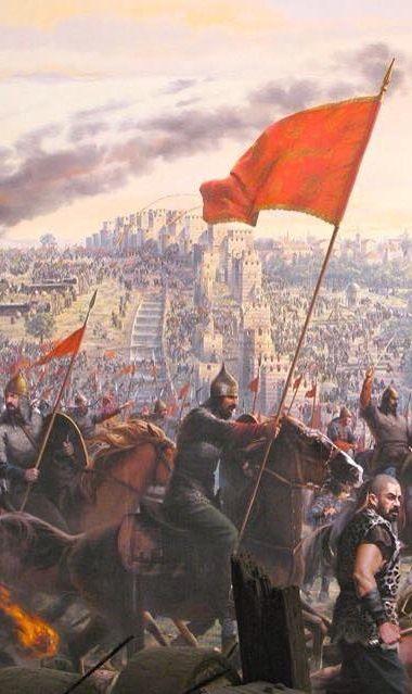 """نحن كنهر فاض عن مجراه ولسنا أمة في نزعهاالأخير نحن أمة حية قوية والقوة القادرة على الحفاظ علينا أقوياءهي الإسلام"""" السلطان عبدالحميد الثاني آخر خليفة فعلي للدولة العثمانية"""
