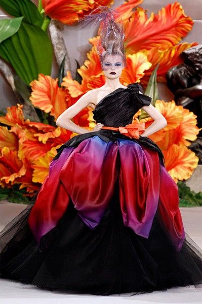 Christian Dior Fall 2010 Haute Couture by Galliano