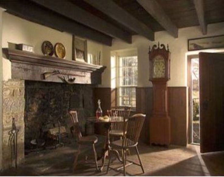 Colonial Home Interiors 706 best prim & colonial decorating 2 images on pinterest
