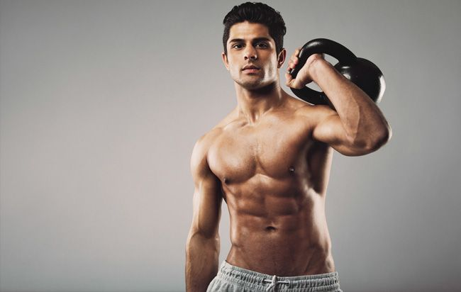 The 20-Minute Kettlebell Shred  http://www.menshealth.com/fitness/20-minute-kettlebell-shred