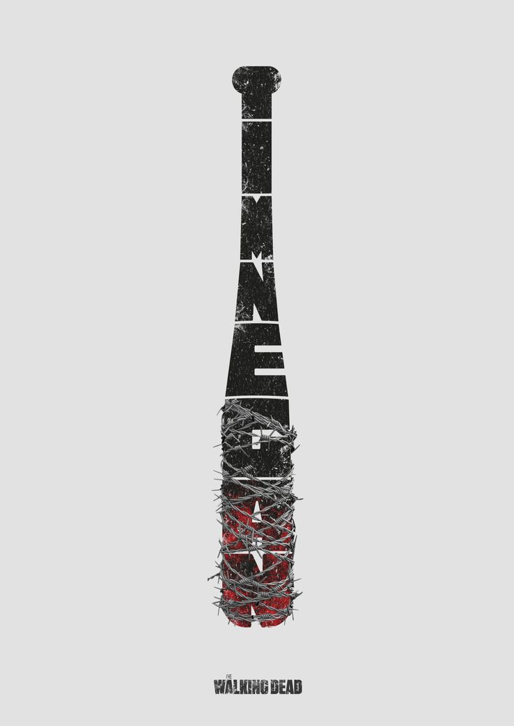 AMC's THE WALKING DEAD on tumblr:  You wouldn't want to make Negan mad… Submit your fan art now.