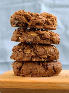 Combine your favorite granola with just 3 more ingredients to make these delicious Chocolate Peanut Butter Granola Cookies.