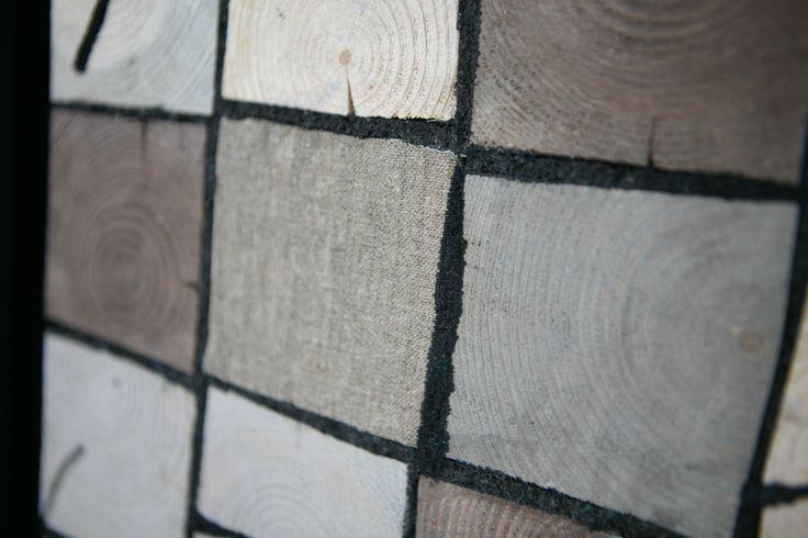 Organic Mosaic decorative panels 116-145cm, Mixed technique, 2016 Yalanzhi fragment