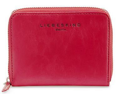 Liebeskind Geldbörse ConnyR Semi Glossy Crinkle Leder rot